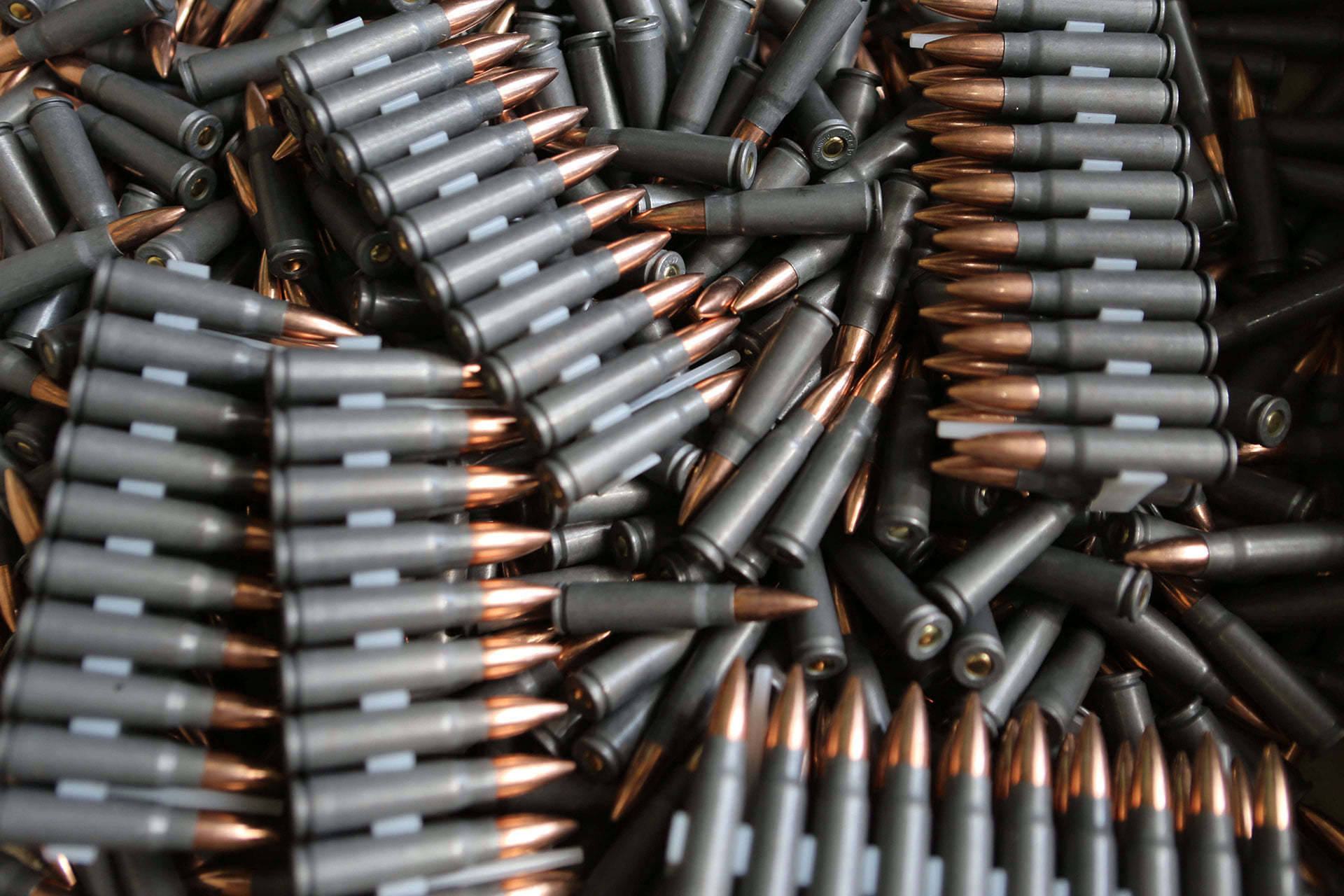 Finished products, caliber cartridges 7.62 mm